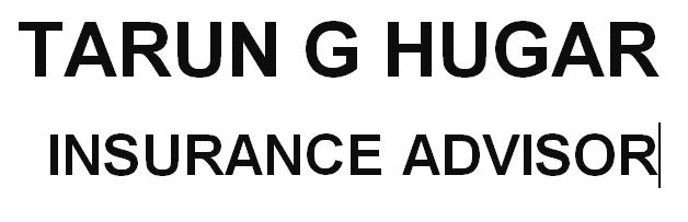 TARUN HUGAR-GENERAL-INSURANCE-AGENTS-COMPANIES-SERVICE PROVIDERS-5TH BLOCK-RAJAJINAGAR-BANGALORE