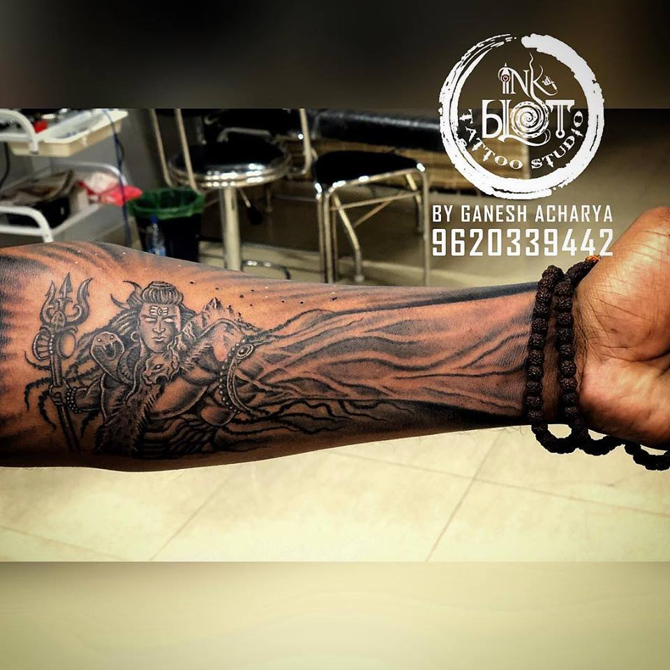 Ink Blot Tattoos Bangalore Tattoo Shops 3d Tattoos Half